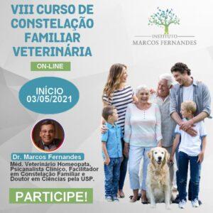 VIII CURSO CONSTELAÇÃO FAMILIAR VETERINÁRIA ON-LINE