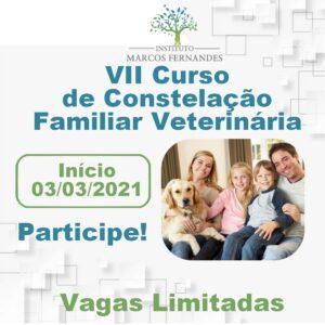 VII CURSO CONSTELAÇÃO FAMILIAR VETERINÁRIA ON-LINE